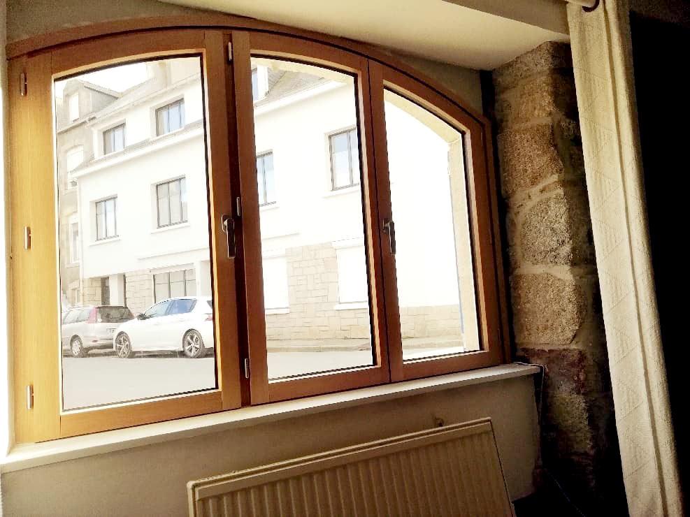 Fenêtre bois-Aluminium intérieur