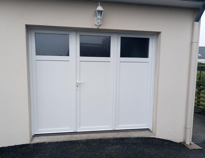 porte-de-garage-reflet-3-vantaux-blanche-avec-occulus